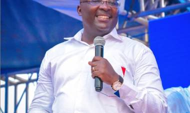 "'That is hypocrisy': Bawumia jabs NDC for walking ""in memory of Papa J"