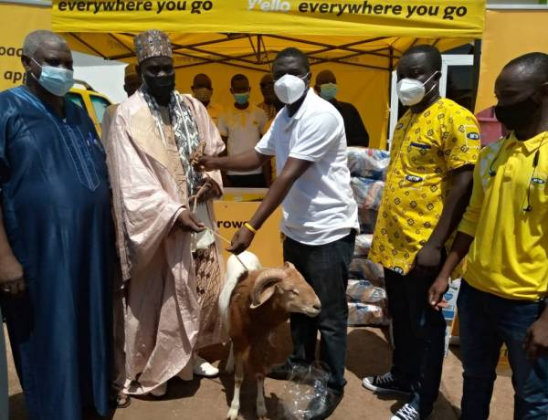 MTN Ghana Donates Food Items to Muslims in Tamale in Support of Ramadan and Eid ul-Fitr