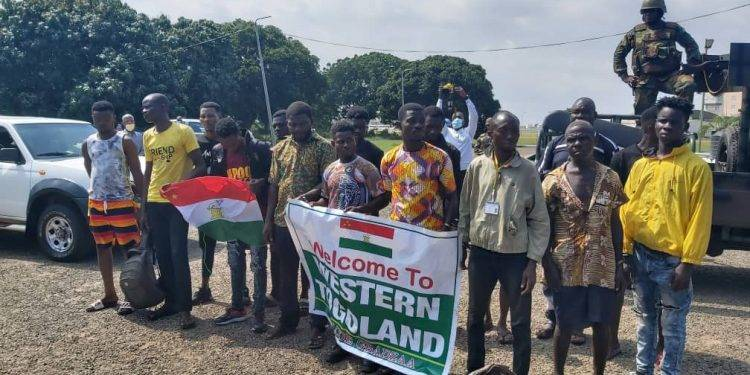 Arrested Western Togoland secessionists airlifted to Accra