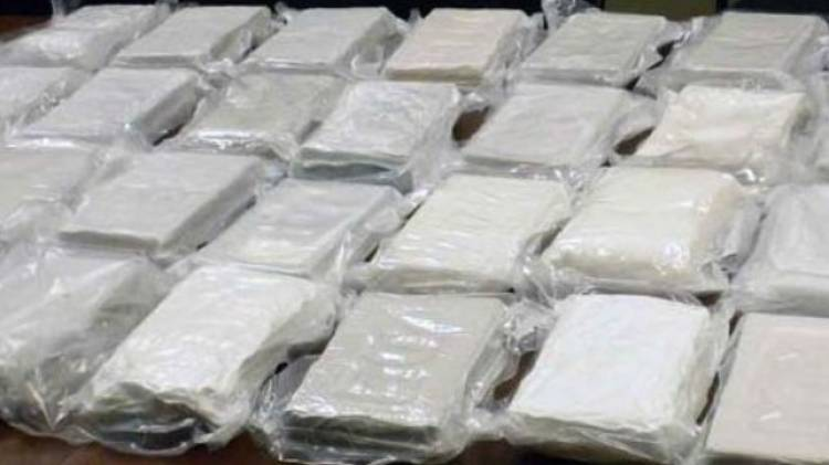 NACOC Officials Intercepts 125kg of cocaine  in Tema