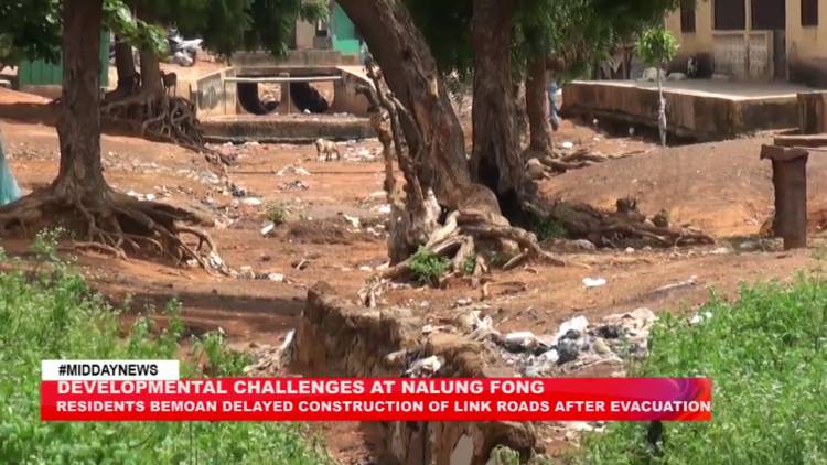 Residents of Nalung Fong lament poor state of road after evacuation