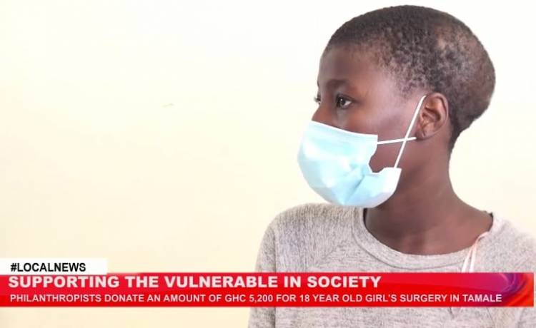 Tamale: Philanthropist donates ¢5,200 for 18 year old girl to undergo surgery