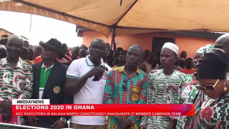 Salaga-North: NDC inaugurates 27 member campaign team