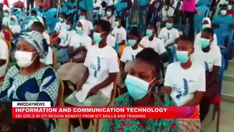 580 girls in Oti region benefit from ICT skills and training