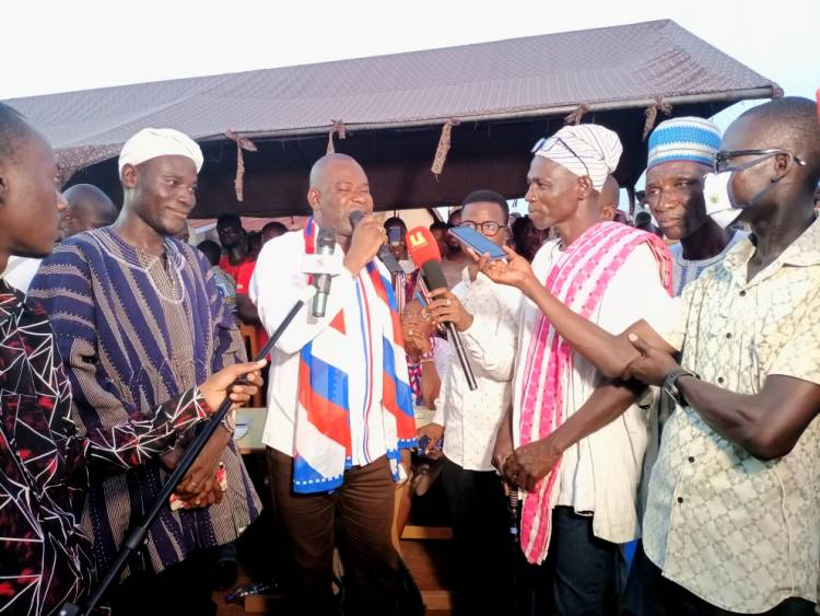 Chief, Assemblyman join NPP in Tamale South Constituency