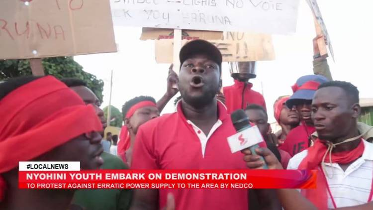 Demo hits Nyohini as residents protest over erratic power supply