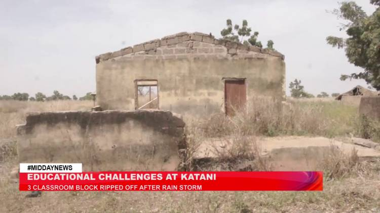 N/R: Parents in fear as dilapidated school structure threaten pupils' lives in Katani in Gushegu